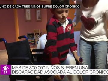 Más de 300.000 niños sufren graves problemas de discapacidad asociados al dolor crónico