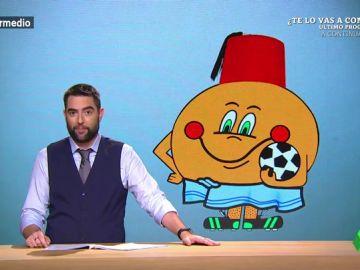 """Dani Mateo propone una mascota para el posible Mundial de España, Portugal y Marruecos: """"Un Naranjito con gorro marroquí y toalla portuguesa"""""""