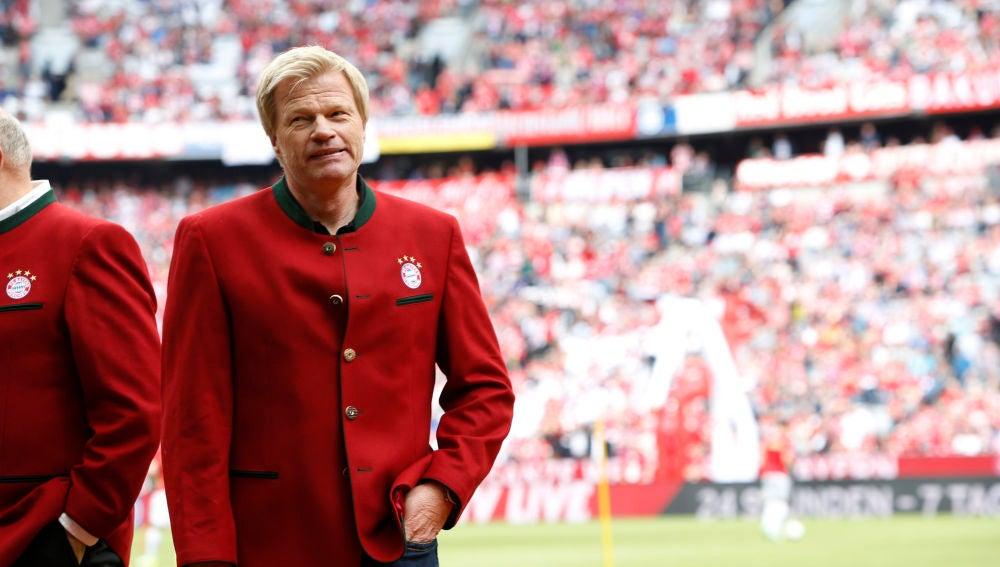 Oliver Kahn, mítico portero del Bayern de Múnich