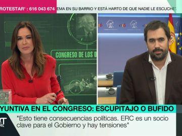 """Carlos Cué, sobre lo ocurrido entre Borrell y un diputado de ERC: """"Haya escupido o no, esto tiene consecuencias políticas. No es una anécdota"""""""