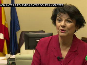 """El Gobierno interviene en la polémica entre Leticia Dolera y Aina Clotet: """"La maternidad no puede ser un inconveniente"""""""