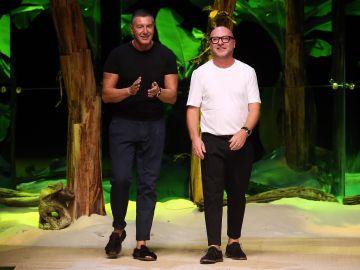 Los diseñadores Dolce & Gabbana