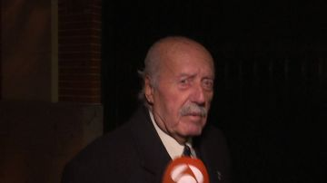 Antonio Tejero acude a la misa en memoria de Francisco Franco