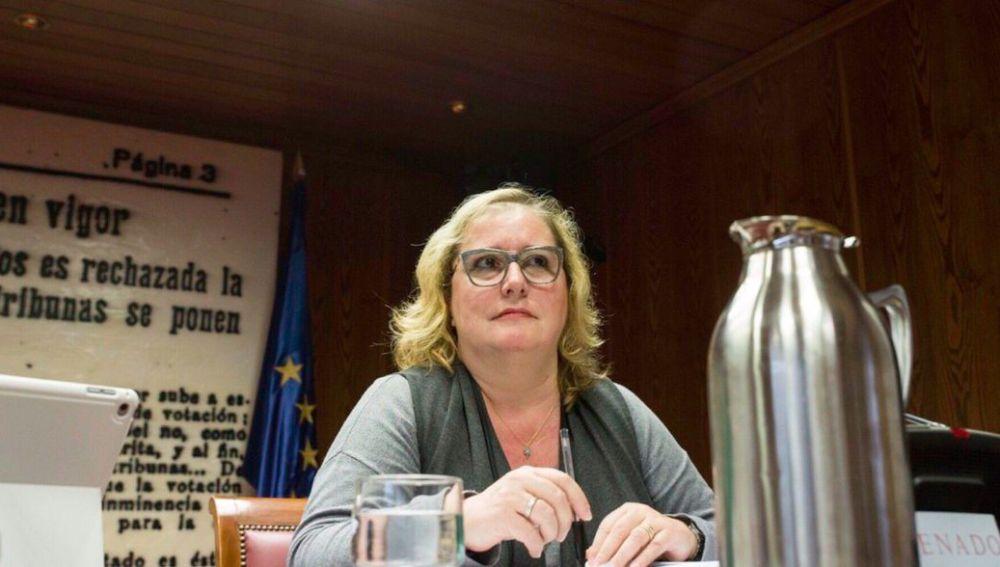 Celia Cánovas, senadora de Podem