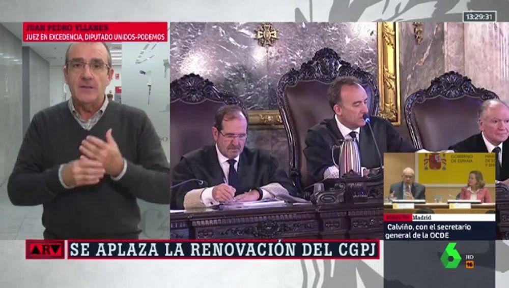 """Yllanes: """"Volver a que sea la carrera judicial la que designe a los vocales del CGPJ no es una buena solución"""""""