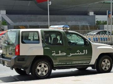 Coche de la Policía de Dubai