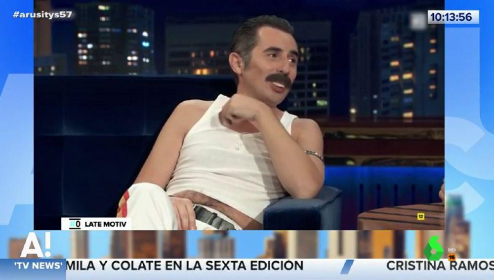 Berto Romero se mete en la piel de Freddie Mercury para hablar de 'Bohemian Rhapsody'