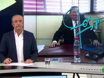 """Josep Pedrerol: """"Ahora sabemos que Gil Manzano, el árbitro que pitará el Atleti-Barça, sufre como tú y como yo"""""""