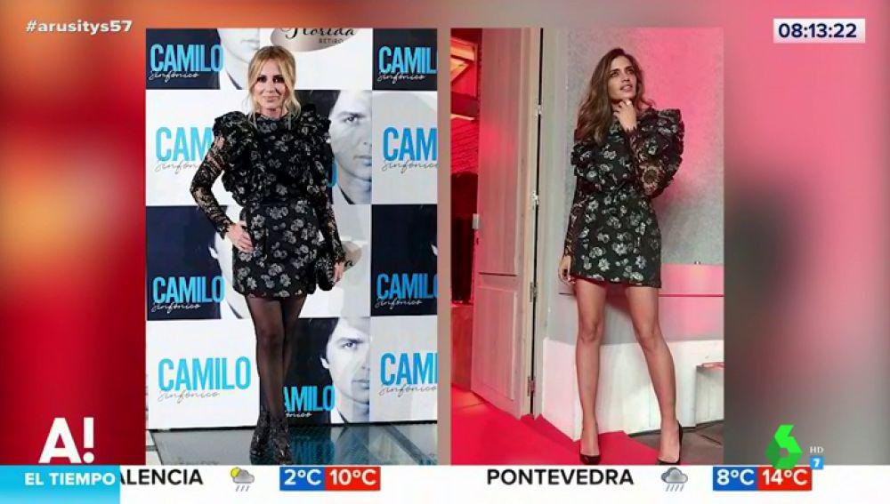 Marta Sánchez le copia el look a Sara Carbonero