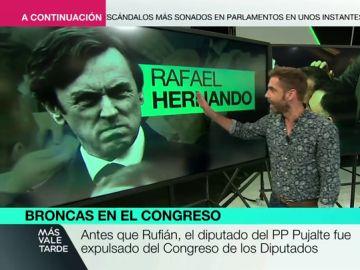 Martínez Pujalte, Labordeta, Rafael Hernando... repasamos los rifirrafes más sonados de la historia reciente del Congreso
