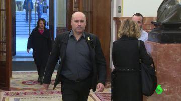 El diputado de ERC en el Congreso Jordi Salvador