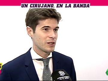 """César Noval, el linier cirujano, a laSexta Deportes: """"Mis dos profesiones son un 'hobbie'"""""""