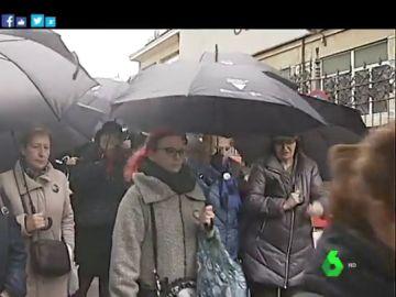 Concentración contra la violencia machista en Lugo