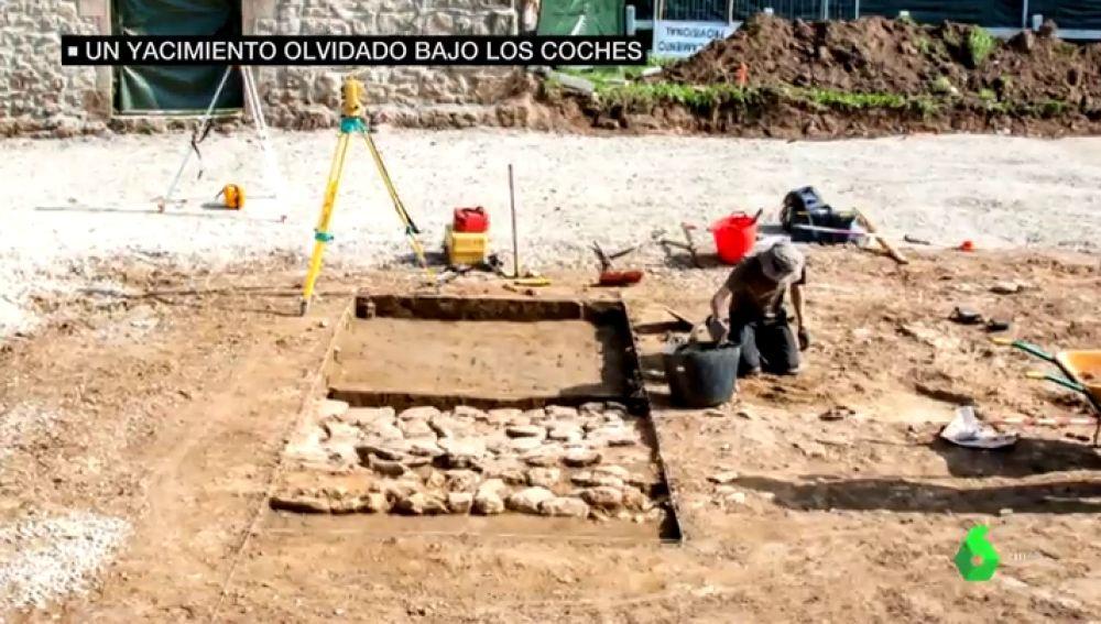 yacimiento romano en Suances, Cantabria