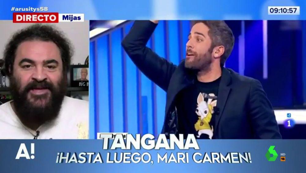 """El análisis de El Sevilla del """"¡Hasta luego, Mari Carmen!"""" de Roberto Leal a Tangana en Operación Triunfo"""