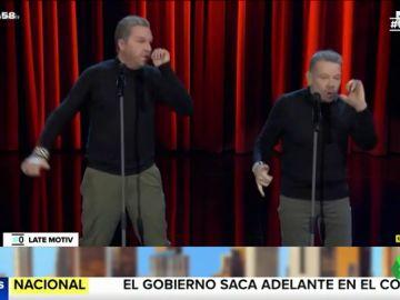 Alberto Chicote se viene arriba con su imitador en una nueva versión del 'Pim-Pam Trucu-Trucu'