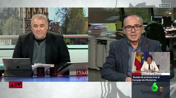 """Joan Coscubiela: """"Aznar es lo peor que le ha pasado a la derecha. Manipula el contenido de la memoria histórica"""""""