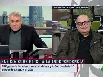 """Miquel Giménez analiza los datos del CEO: """"El estancamiento de la sociedad catalana ya es por puro cansancio"""""""