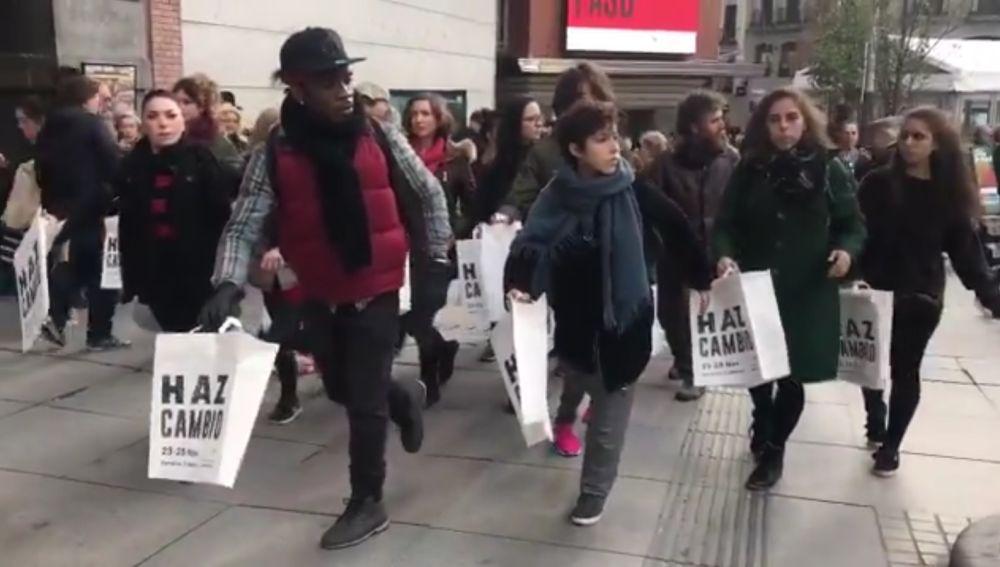 Campaña de Greenpeace contra el Black Friday