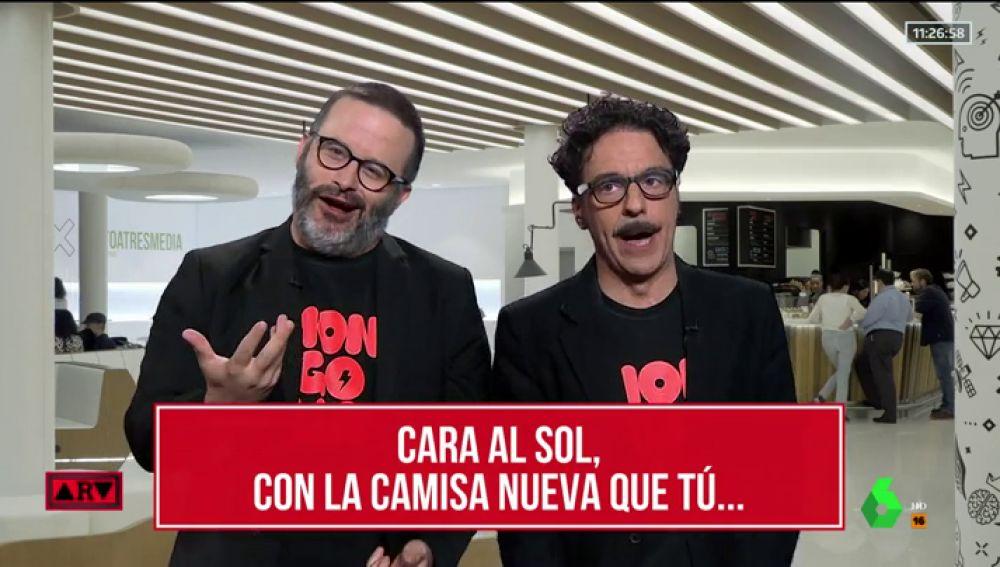 """La revista Mongolia entonan el 'Cara al sol' en Al Rojo Vivo encuentra la """"solución definitiva"""" para Franco"""