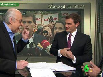 """El 'enfado' de Ferrán Monegal con Albert Rivera por quitar lazos amarillos: """"Inés Arrimadas no estaba de acuerdo"""""""