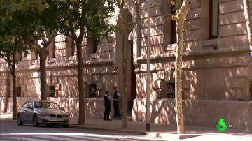 Imagen de los Mossos en Barcelona