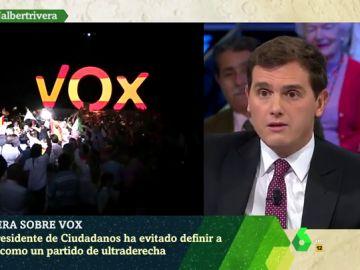 """Rivera evita definir a VOX como ultraderecha: """"Es conservador, nadie piensa que es de extrema izquierda"""""""
