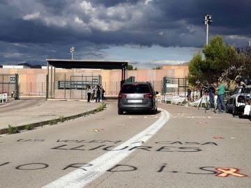 Quim Torra visita a los exconsellers presos en la cárcel de Lledoners