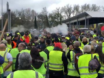 Protestas en Marsella contra la subida de los carburantes