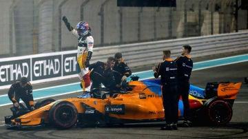 Fernando Alonso, sobre su McLaren