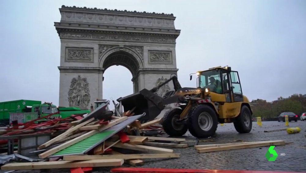 París tras las protestas de los 'chalecos amarillos'