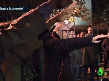 Exaltación del franquismo tras una misa en recuerdo al dictador