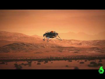 """¿Logrará superar los """"siete minutos de terror""""? El InSight llega a Marte para estudiar el misterioso interior del planeta rojo"""