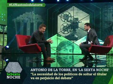 """Antonio de la Torre: """"Tenemos un problema de convivencia muy serio en Cataluña"""""""