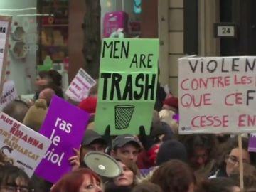 """El eco del 'no es no' contra el machismo también se escucha a nivel internacional: """"Todavía hay violaciones, acoso y violencia en la pareja"""""""