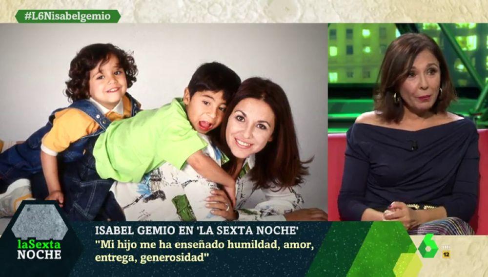 """Isabel Gemio: """"Mi hijo me ha enseñado humildad, amor, entrega, generosidad… Él es un héroe de verdad"""""""