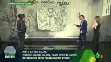 Arte entre rejas: los dibujos de presos de Auschwitz que desvelan el horror en los campos de concentración