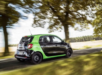 Smart Forfour Electric Drive 2016