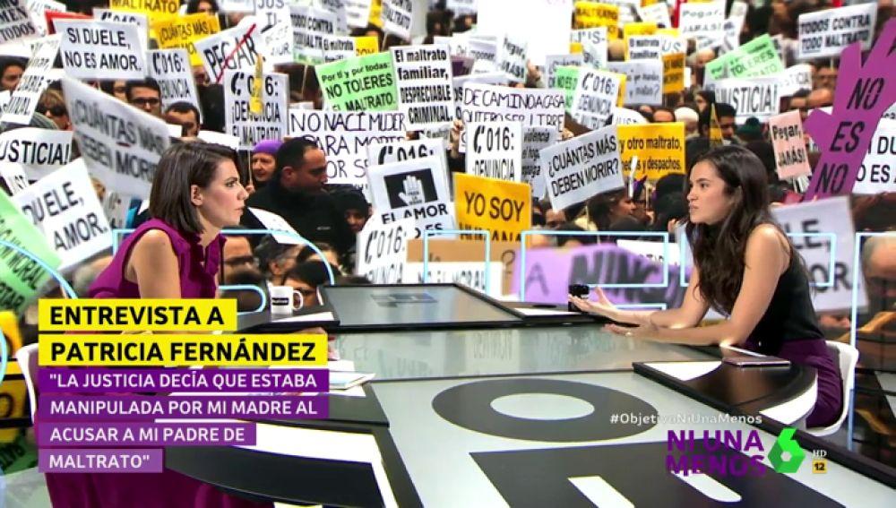 Patricia Fernández, hija de una víctima de violencia machista