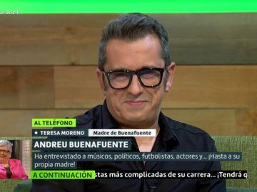 Teresa Moreno, la madre de Andreu Buenafuente