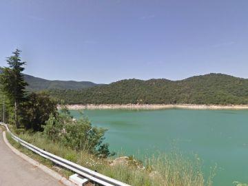 Imagen del pantano de Boadella, Girona