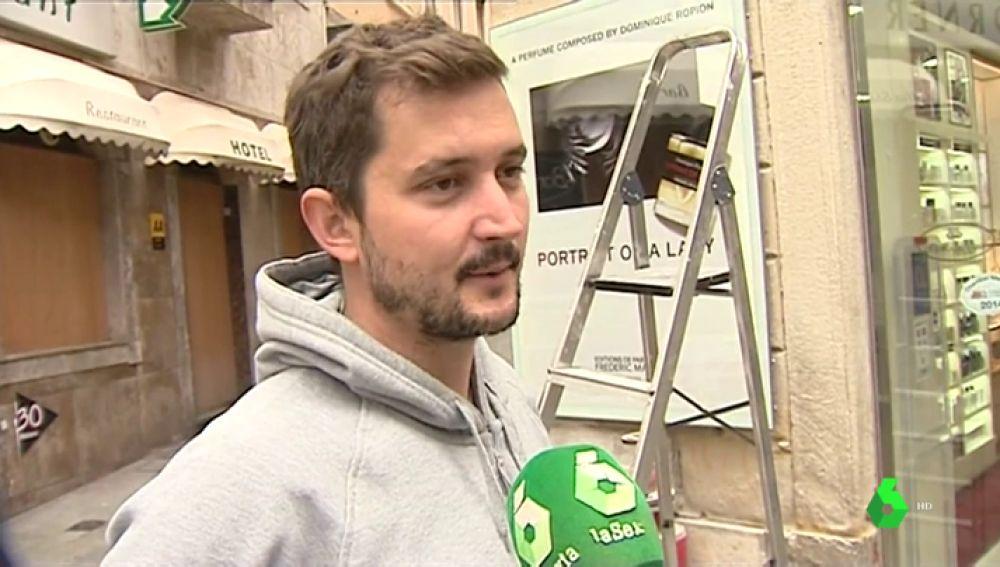 Trabajador español en Gibraltar