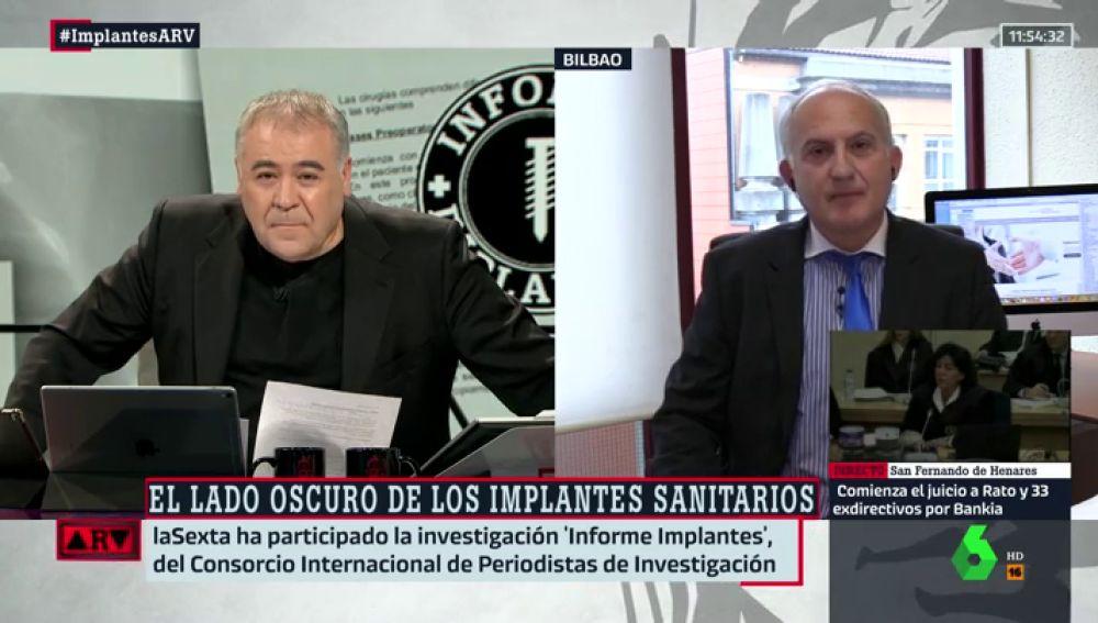 El abogado especialista en derecho sanitario, Carlos Gómez