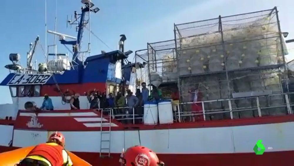 Imagen del pesquero español 'Nuestra Madre de Loreto'