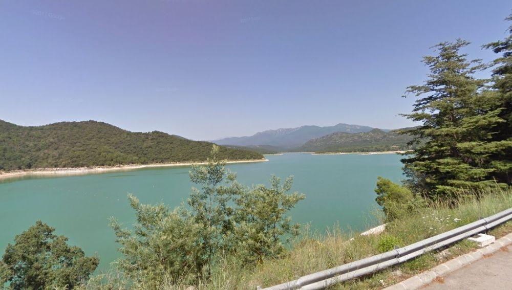 Imagen del pantano de Darnius-Boadella