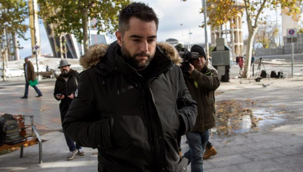 La Fiscalía pide el archivo de la causa contra Dani Mateo