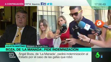 """Agustín Martínez, abogado de 'La Manada': """"Ángel Boza ha estado cuatro meses en prisión. El Estado debe responder por una mala actuación de la justicia"""""""