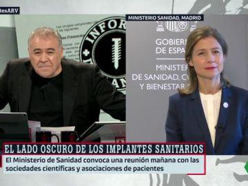 María Jesús Lamas, directora de la Agencia del Medicamento