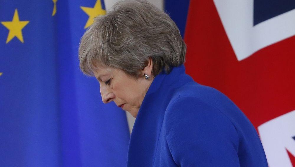 Theresa May en una imagen de archivo