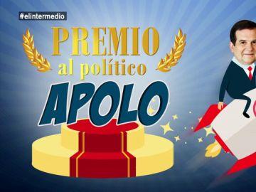 """El Intermedio otorga al alcalde de Vigo el premio Apolo: """"Se viene tan arriba que es capaz de salirse de la órbita"""""""